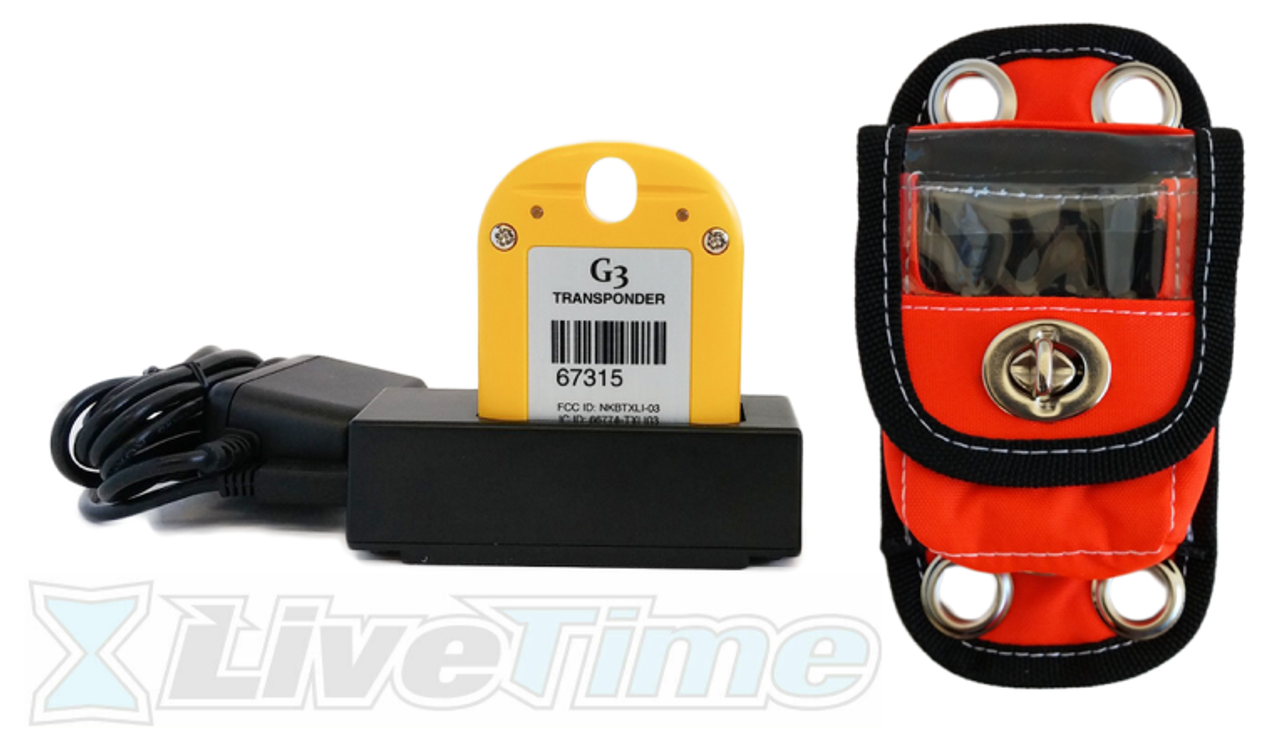 Westhold Rechargeable G3 Transponder Combo with Charger and Pouch