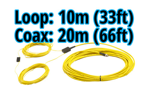 MyLaps 20m/66ft Connection Box/Coax and 10m/33ft Detection Loop Combo