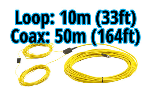 MyLaps 50m/164ft Connection Box/Coax and 10m/33ft Detection Loop Combo