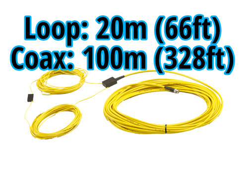 MyLaps 100m/328ft Connection Box/Coax and 20m/66ft Detection Loop Combo