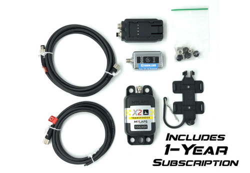 MyLaps X2 Direct Power Transponder (Karting), 1-year subscription