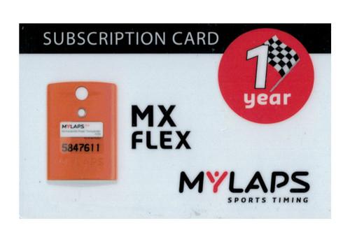 MyLaps Flex subscription renewal, 1-year MX [Renew instantly @ X2renew.com]