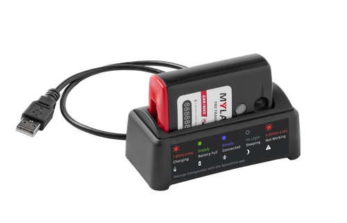 MyLaps TR2 Rechargeable Transponder (Car/Motorcycle), 1-year subscription