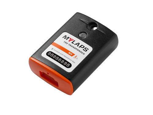 MyLaps TR2 Rechargeable Transponder (MX), 1-year subscription