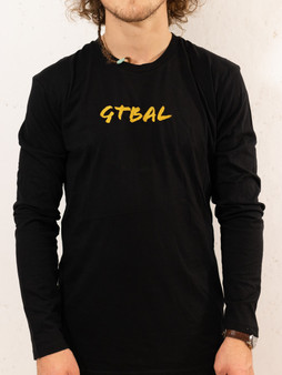 Yellow GTBAL Black Long Sleeve Tee