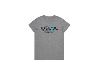 Girls CheckMate Grey Tee