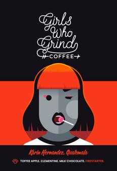 Girls Who Grind Coffee - Karin Hernandez - Guatemala, Washed (250g, Wholebean)