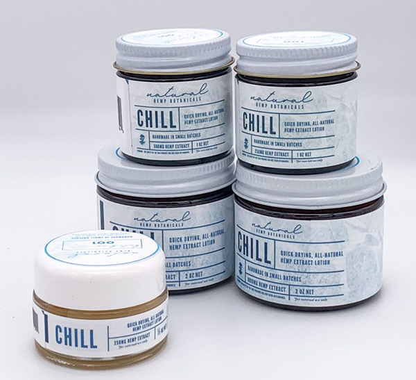 Chill CBD Lotion Packaging