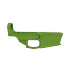 .308 80% Lower Receiver DPMS Style Forged - Green