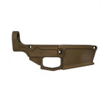 .308 80% Lower Receiver DPMS Style Forged - Burnt Bronze