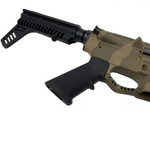 AR-15 FDE Camo Pistol Kit 7.5 Nitride Barrel, 7 M-Lok Rail w 80% Lower Receiver