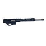 """.308 Upper Assembly with 80% Lower Receiver- Black, 17.5"""" Barrel, 12.5"""" M-Lok Rail"""