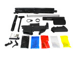 "AR9 Pistol Kit 7"" MLok. 6.5"" Barrel. - Black - 80% Lower"