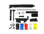 "AR-9 Pistol Kit 7"" MLok. 6.5"" Barrel. - Black - 80% Lower"