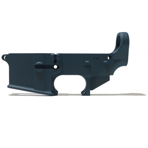 AR-15 80% Lower Receiver - Titanium Blue