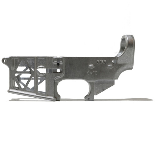 AR-15  Skeleton 80% Lower Receiver - Raw