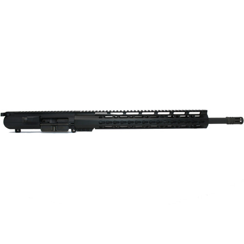 ".308 Complete Upper Assembly, 18"" Phosphate Barrel, 15"" Keymod Rail"