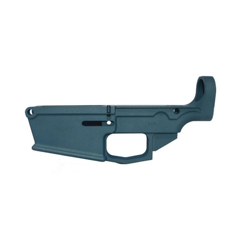 .308 80% Lower Receiver DPMS Style Forged - Titanium Blue