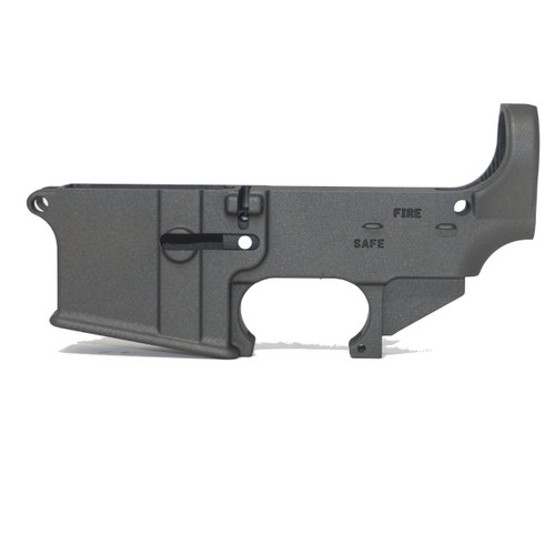 AR-15 80% Lower Receiver - Tungsten