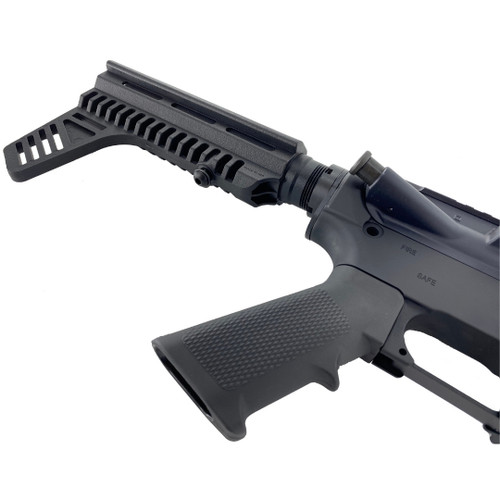 AR-15 Black Pistol Kit 7.5 Nitride Barrel, 7 Keymod Rail w 80% Lower Receiver