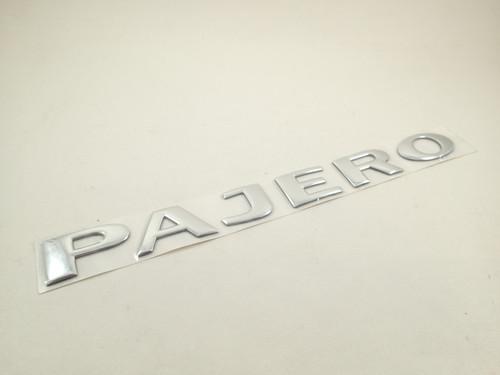 PAJERO Nameplate Badge