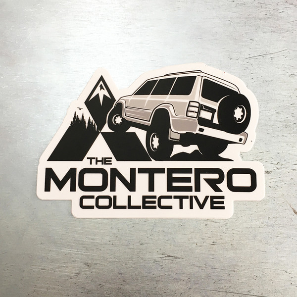 The Montero Collective Gen2 Logo Sticker