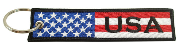 Embroidered Key Chain, COUNTRY FLAG