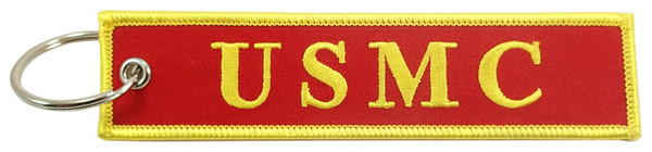 Embroidered Key Chain, US MILITARY