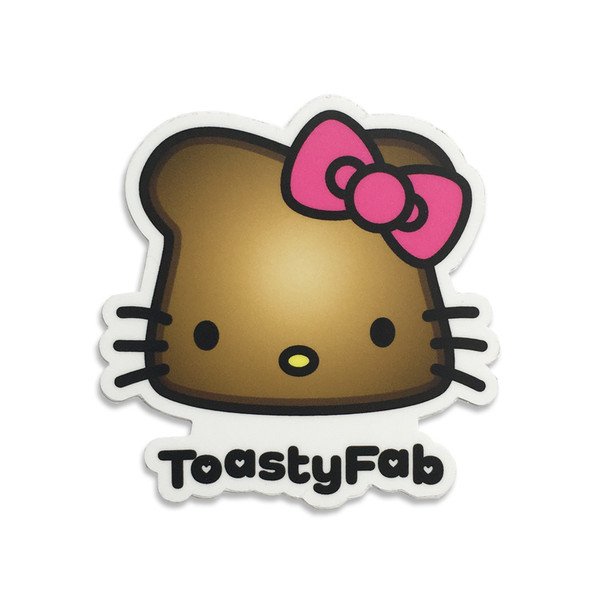 ToastyFab Sticker