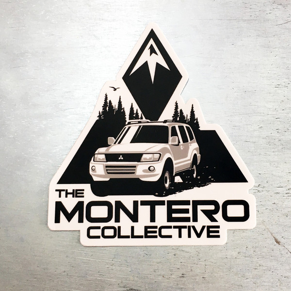 The Montero Collective Gen3 Logo Sticker