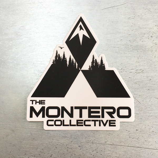 The Montero Collective Logo Sticker