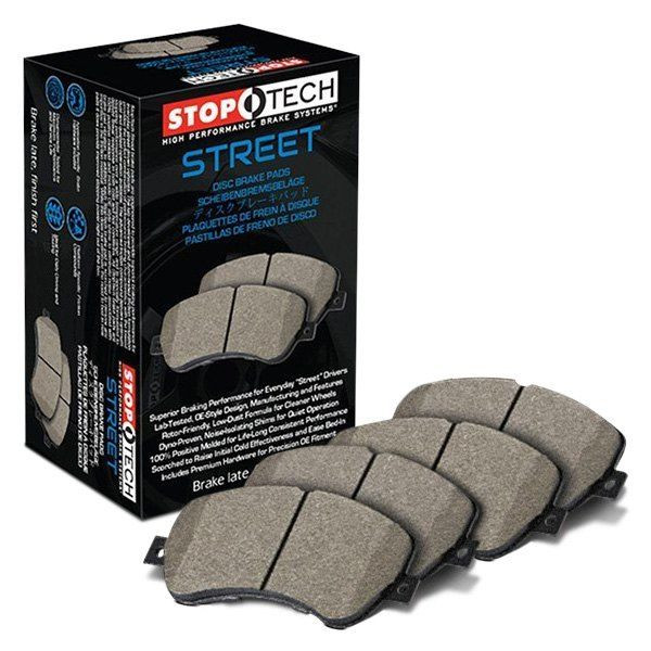 MONTERO Gen3 - StopTech Premium Street Brake Pad Set, Front