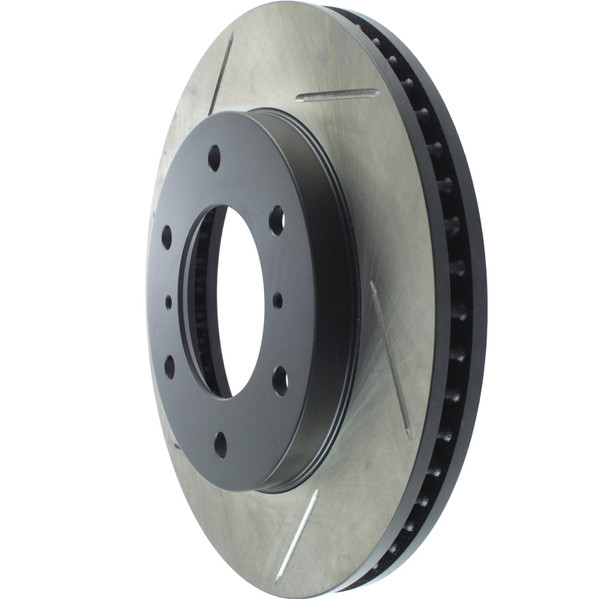MONTERO Gen3 - StopTech Sport Brake Rotor, Slotted, Front, Right