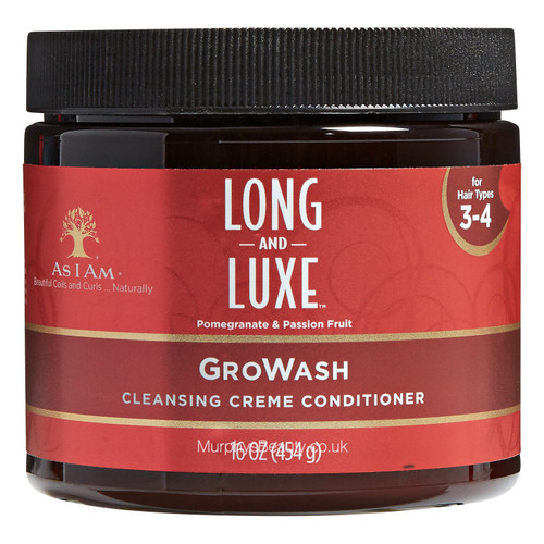As I Am | Long and Luxe | GroWash Creme Conditioner