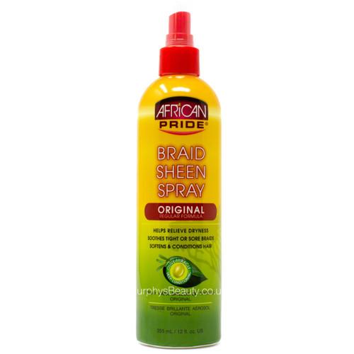 African Pride | Braid Sheen Spray Original