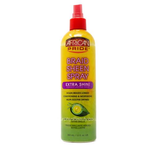 African Pride | Braid Sheen Spray Extra Shine