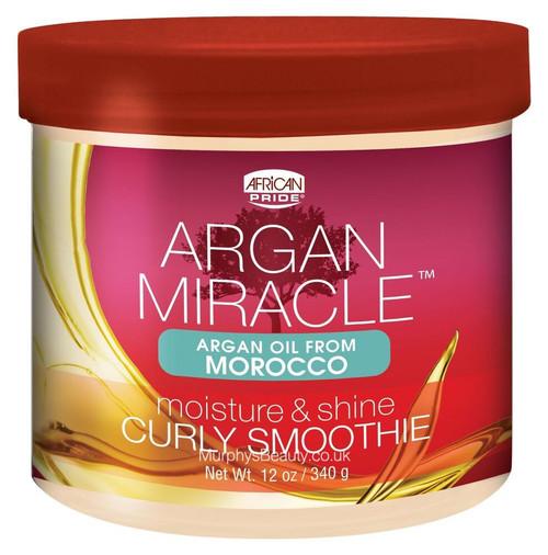 African Pride | Argan Miracle | Curly Smoothie