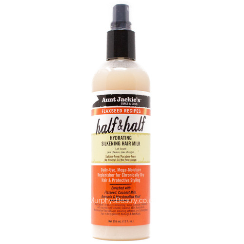 Aunt Jackie's | Half & Half Hydrating Silkening Hair Milk