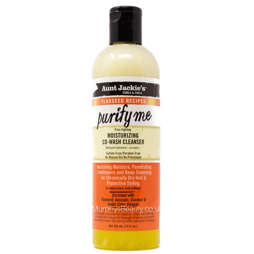 Aunt Jackie's | Purify Me Moisturising Co-wash Cleanser