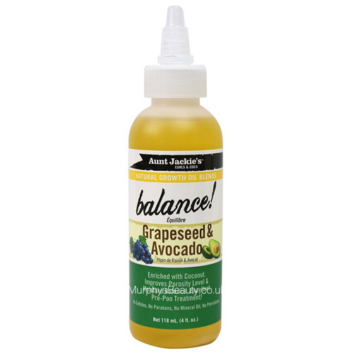 Aunt Jackie's | Balance Grapeseed & Avocado Oil