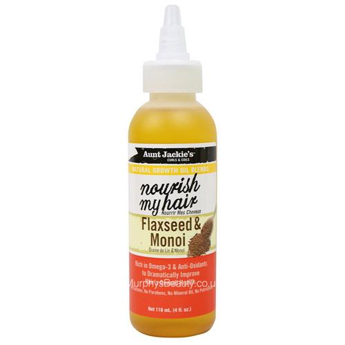 Aunt Jackie's | Nourish My Hair Flaxseed & Monoi