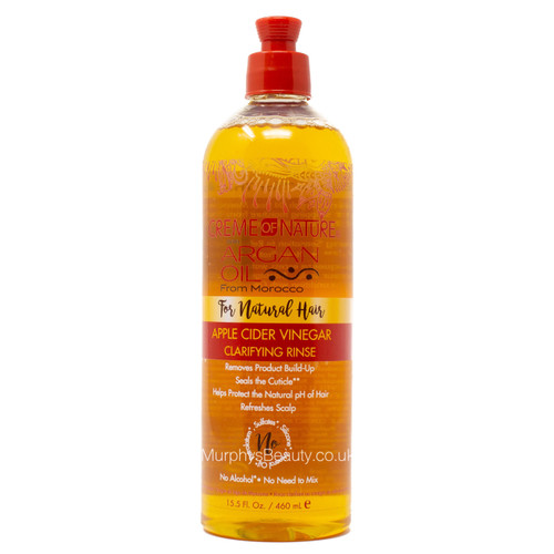 Creme of Nature | Argan Oil | Apple Cider Vinegar Clarifying Rinse