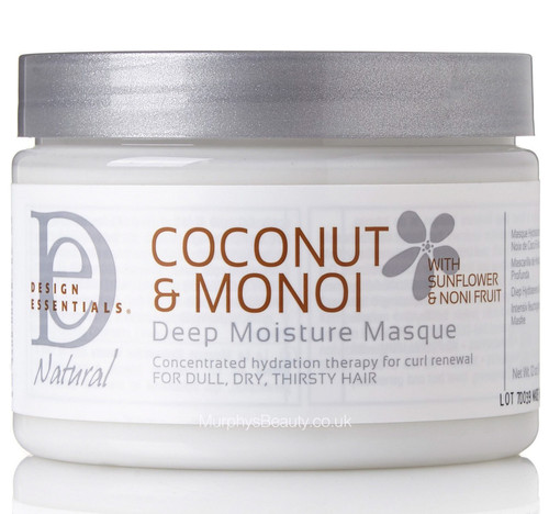Design Essentials | Coconut & Monoi | Deep Moisture Mask