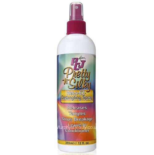 Lusters | PCJ Pretty-n-Silky | Wet-n-Ez Detangling Spray