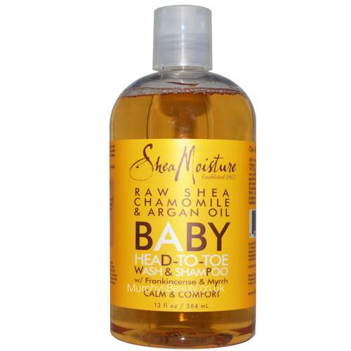 Shea Moisture | Raw Shea Chamomile & Argan Oil Baby Wash & Shampoo