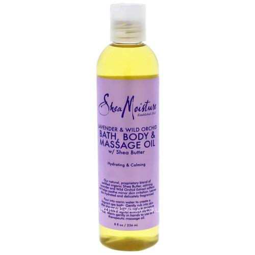Shea Moisture   Lavender & Wild Orchid Bath, Body & Massage Oil