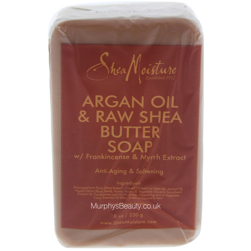 Shea Moisture | Argan Oil & Raw Shea Butter | Soap