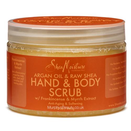 Shea Moisture | Argan Oil & Raw Shea Hand & Body Scrub