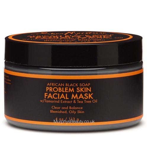 Shea Moisture | African Black Soap | Problem Skin Facial Mask