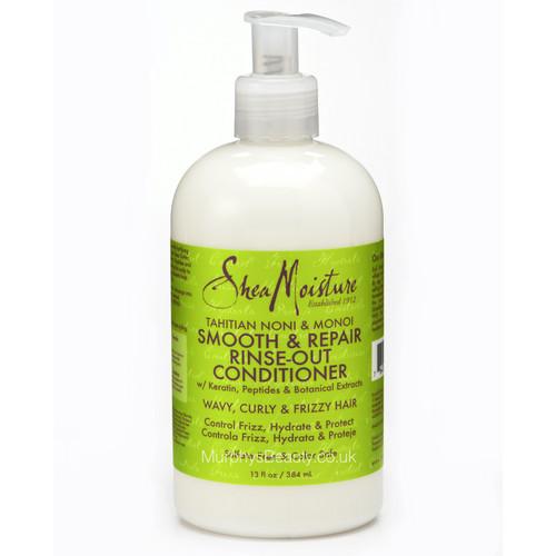 Shea Moisture | Tahitian Noni & Monoi | Oil Smooth & Repair Rinse-Out Conditioner